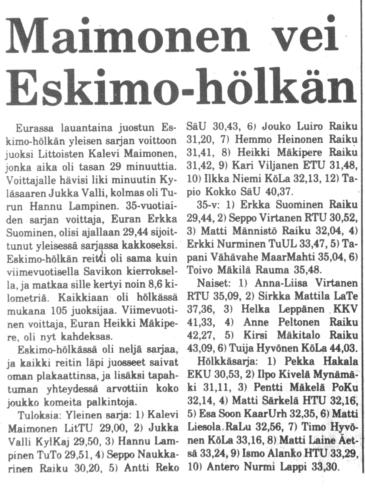 Eskimohölkkä 1980