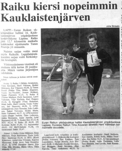 kauklainen 1995