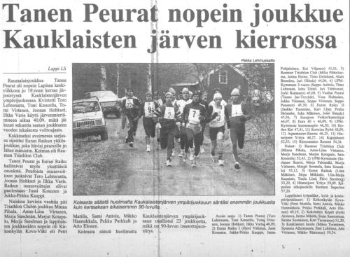 kauklainen 1997