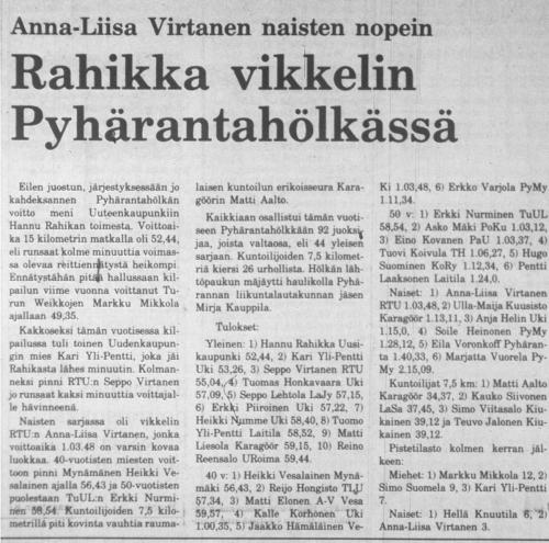 pyharanta 1983