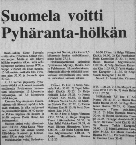 pyharanta 1986