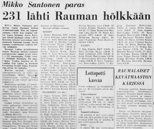 1973  tulokset