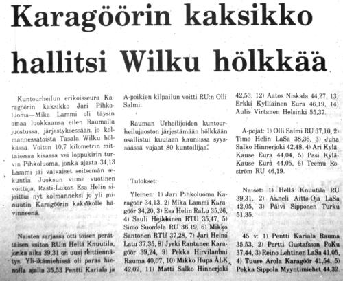 wilkku 1985